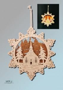 Lampe Sternenstadt
