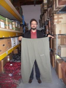 Eine Hose für ganze Kerle