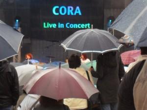 Auftritt Cora