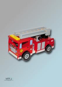 Feuerwehr mit Zubehör