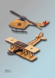 Hubschrauber & Doppeldecker