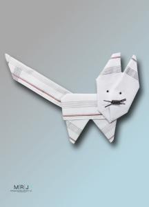 3 Pack Taschentücher - Schmunzeltücher Katze
