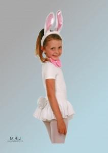 Kinder Kostüm Bunny Set