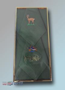 3er Pack bestickte Jägertaschentücher