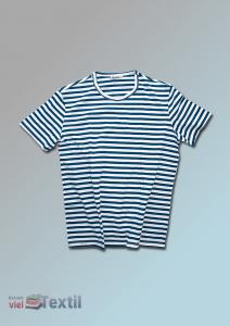 T-Shirt im Marine Stil