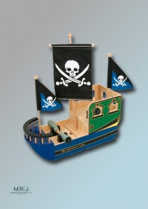 Piratenschiff Totenkopf