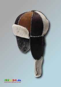 Lammfell Mütze