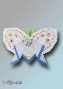 Taschentücher Geschenkset Schmetterling