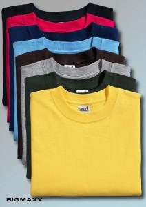 T-Shirt bis 6XL in acht Farben