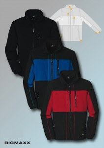 4PROtect Fleece-Jacke Dallas - alle Farben