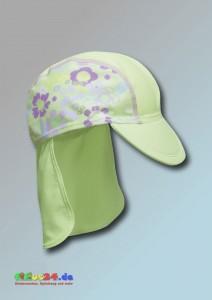 UV-Schutz Mütze Flower
