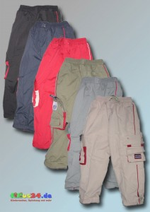 Justbo Kinder Outdoorhose