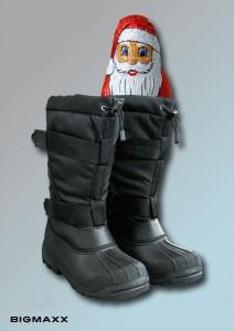Für Nikolaus gefüllte Arctic Boots