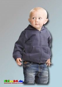 babybugz Baby Supersoft Zip Through Hoodie