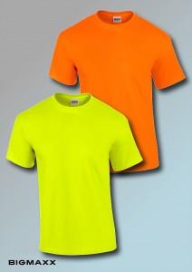 Gildan Ultra-Cotton-T-Shirt in Leuchtfarben Gr S bis 5XL