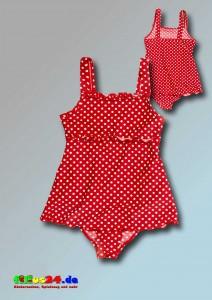 Playshoes UV-Schutz-Badeanzug mit Rock Punkte
