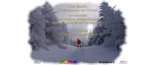 Frohe Weihnacht 2014